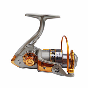 Never Break GF 12BB 5.2:1 Full Aluminum Metal Spinning Boat Fishing Reel Free Shipping