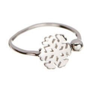 Snowflake Sterling Silver Ring - 5and15