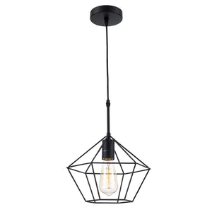 Ohr Lighting® Zeshoek Pendant, Black (OH119)