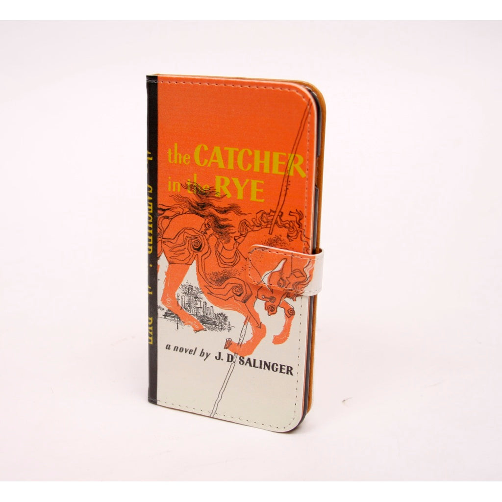 Catcher in the Rye phone flip case wallet for iPhone and Samsung - 5and15