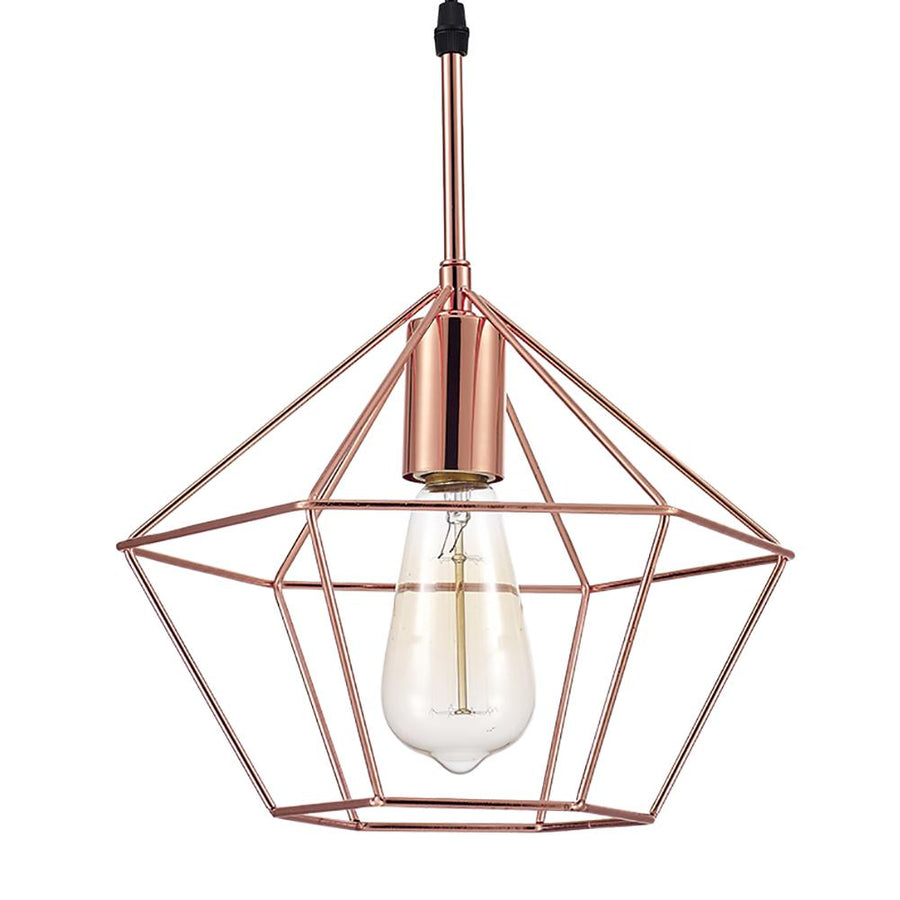 Ohr Lighting® Zeshoek Pendant, Copper (OH120)