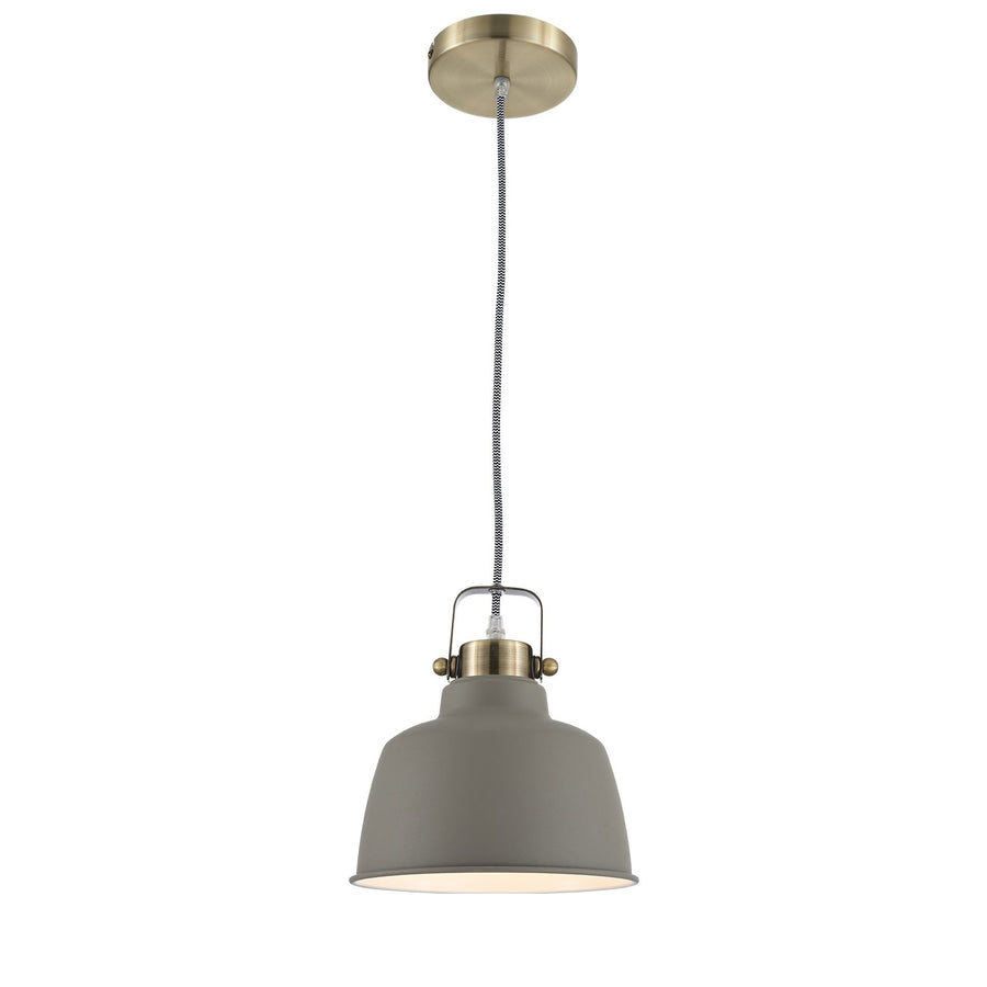 Ohr Lighting® Metal Lighting  industrial Pendant Brushed Nickel