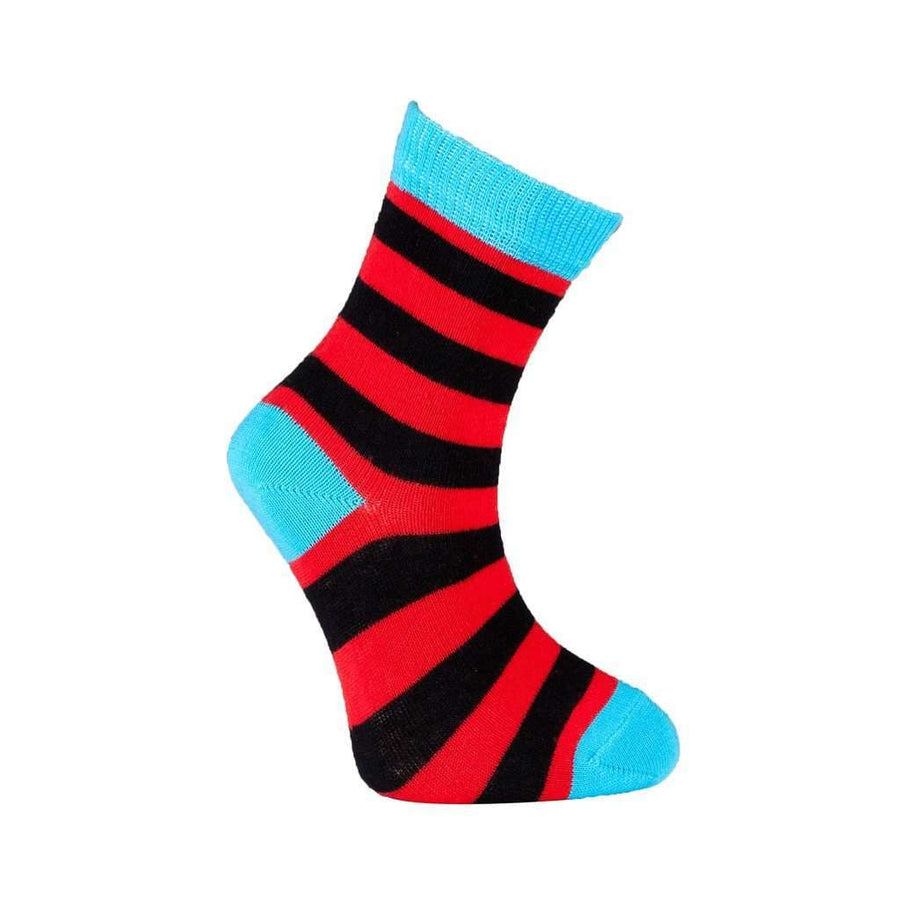 Kids' 5-pairs Colorful Stripe Socks *Free Shipping* - 5and15