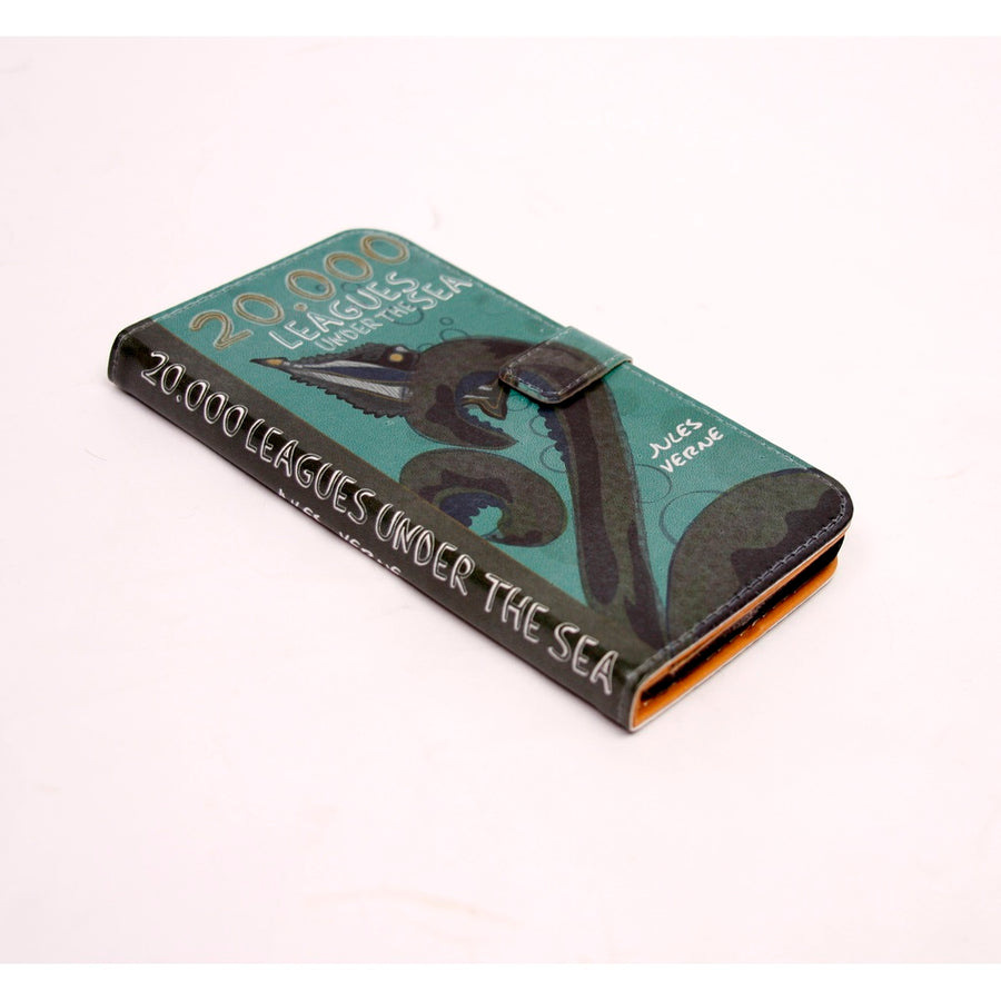 20,000 Leagues phone flip case wallet for iPhone and Samsung - 5and15