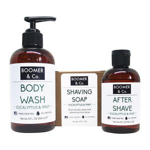 Eucalyptus & Mint Men's Grooming Kit - 5and15