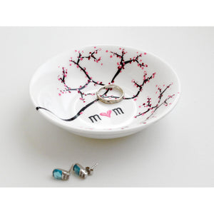 Cherry Blossom Branch Jewelry Dish - 5and15