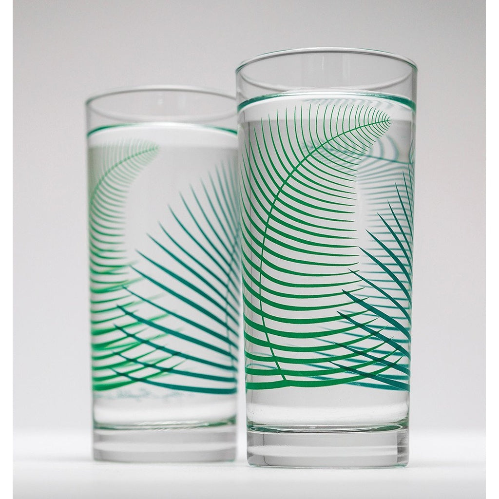Green Fern Glasses - 5and15