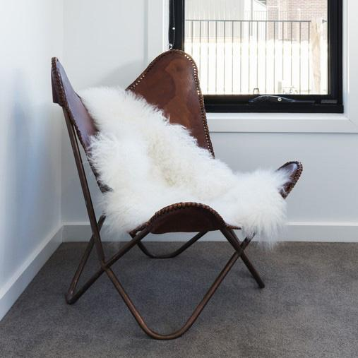 Area Rug Ultra Soft Faux Sheepskin Rug, Throw or Baby Blanket-Ivory