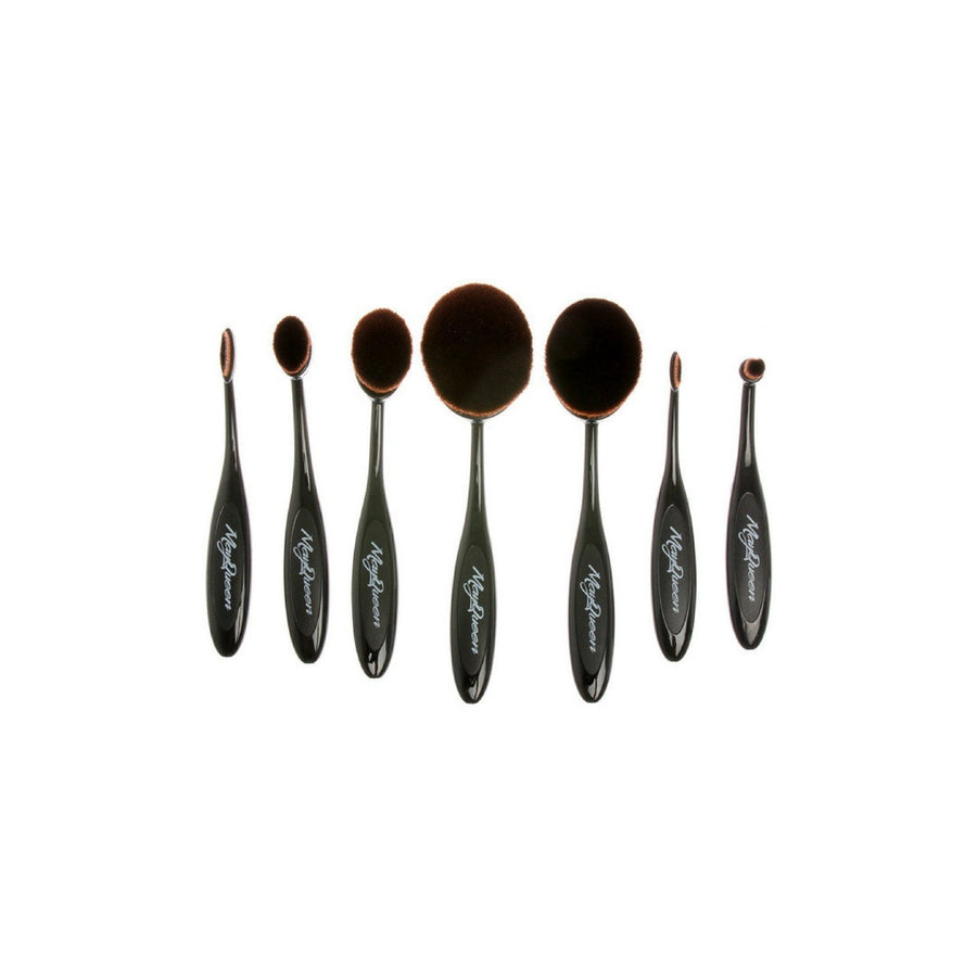 7pc Blending & Contouring Soft Oval Brush Set - 5and15