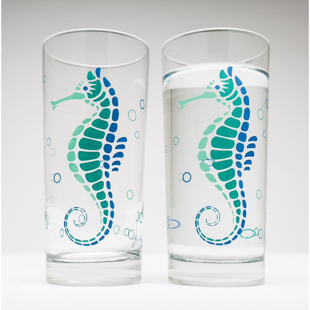Seahorse Water Glasses - 5and15