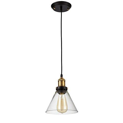 Edison Pendant Lighting Glass Fixture Industrial Vintage style (ED266P)