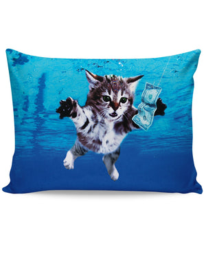 Cat Cobain Pillow Case - 5and15