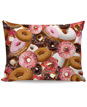 Donuts Pillow Case - 5and15