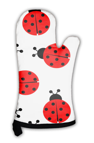 Oven Mitt, Ladybug Pattern *Free Shipping* - 5and15