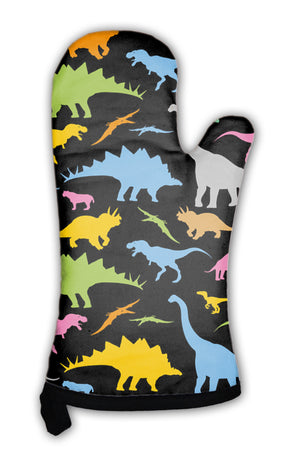 Oven Mitt, Dinosaur Pattern *Free Shipping* - 5and15