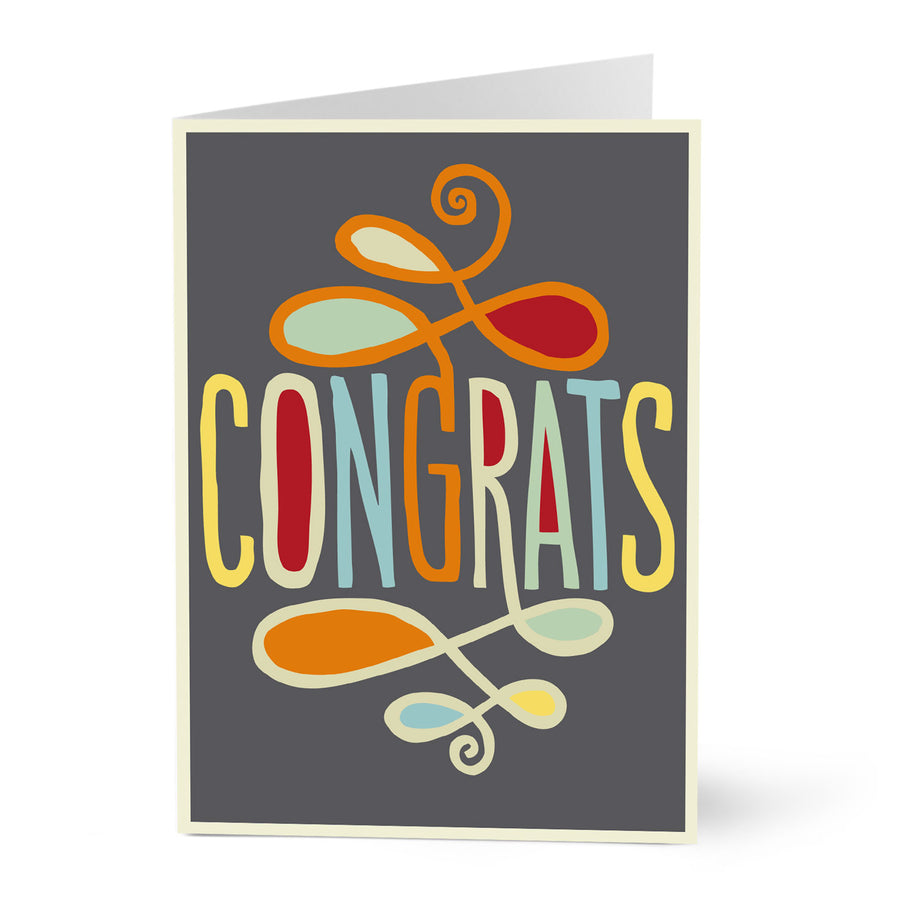 Congrats Card from Hallmark - 5and15