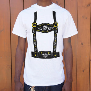 Mens Lederhosen  T-Shirt *Free Shipping* - 5and15
