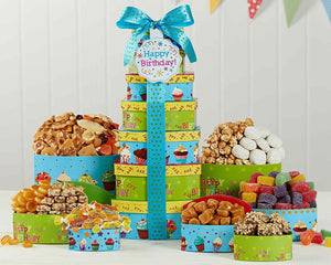 Make a Wish Gift Tower by Wine Country Gift Baskets *Free Shipping* - 5and15