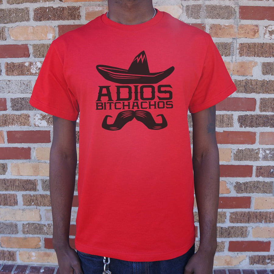 Mens Adios Bitchachos T-Shirt *Free Shipping* - 5and15