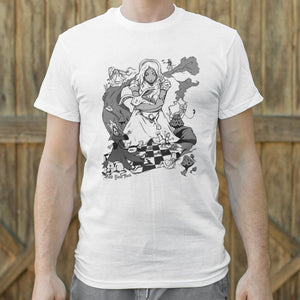 Mens Alice In Wonderland T-Shirt *Free Shipping* - 5and15
