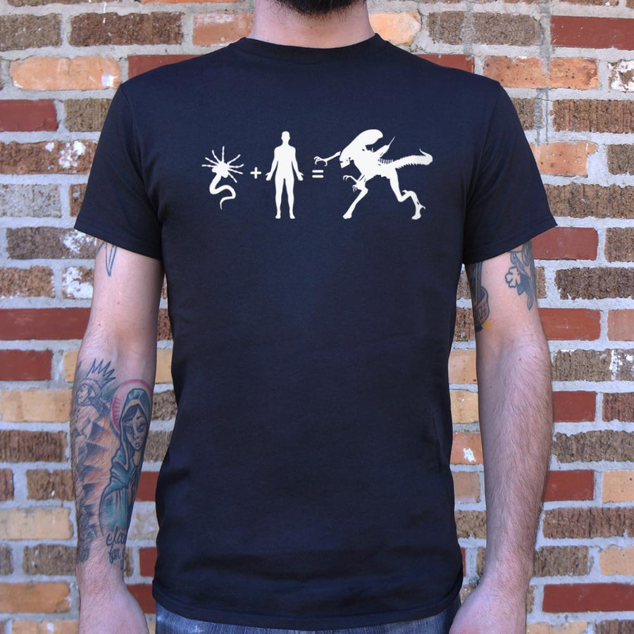 Mens Alien Arithmetic T-Shirt *Free Shipping* - 5and15