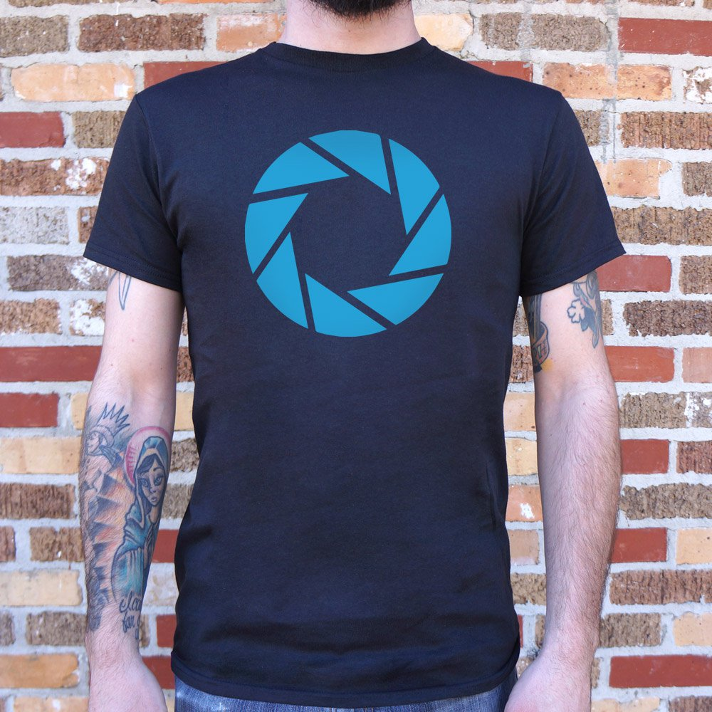 Mens Aperture Labs T-Shirt *Free Shipping* - 5and15