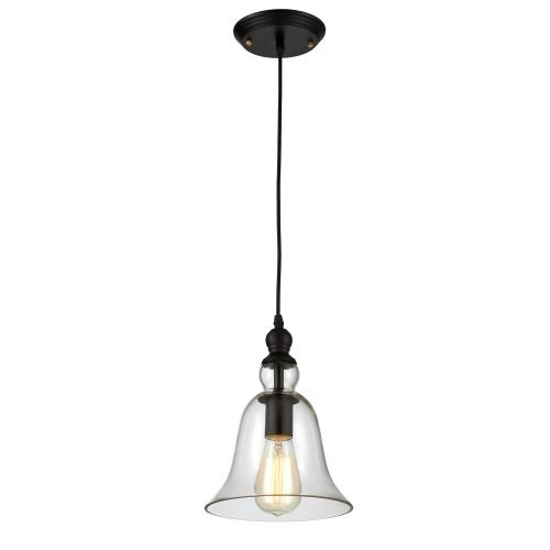 Edison Pendant Lighting Fixture Glass Shade Industrial Vintage Style (ED264P)