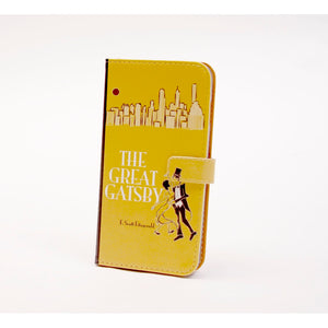 Great Gatsby phone flip case wallet for iPhone and Samsung - 5and15