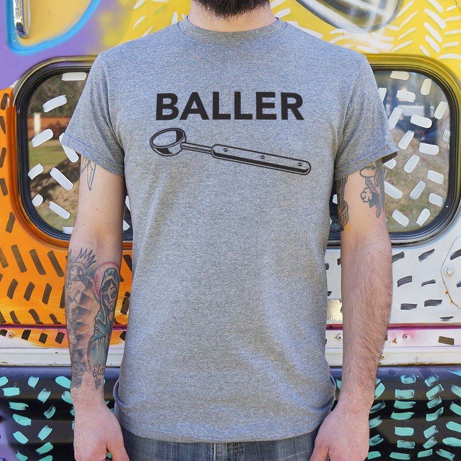 Mens Baller T-Shirt *Free Shipping* - 5and15