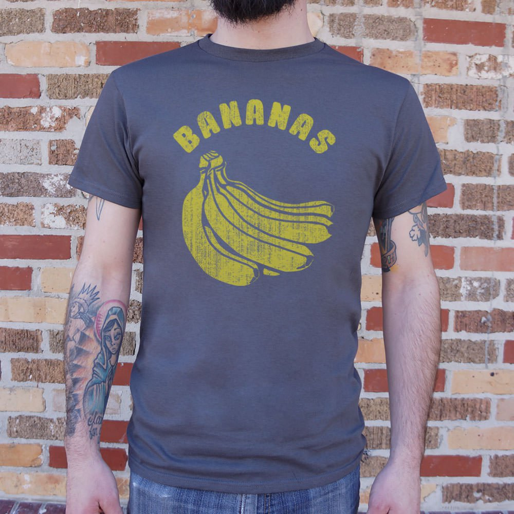 Mens Bananas T-Shirt *Free Shipping* - 5and15