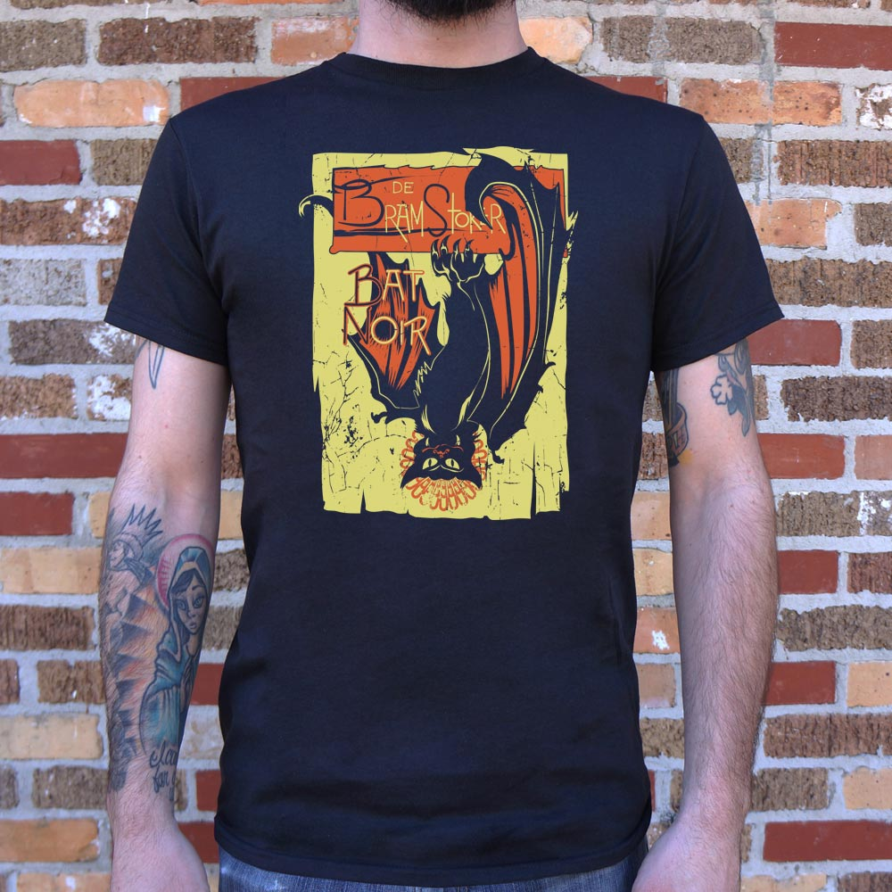 Mens Bat Noir T-Shirt *Free Shipping* - 5and15