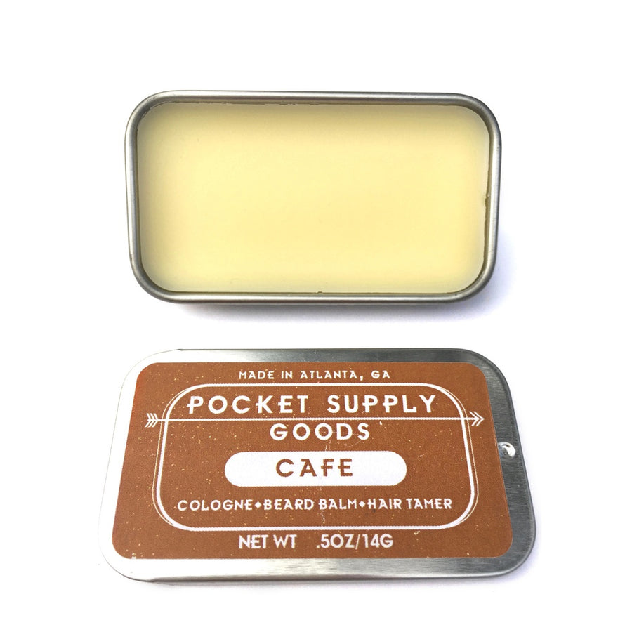 Cafe / Coconut & Coffee Scented Grooming Balm - 5and15