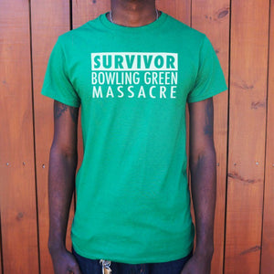 Mens Bowling Green Massacre Survivor T-Shirt *Free Shipping* - 5and15