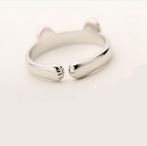 Marietta Sterling Silver Kitty Ring (Limited Supply) *Free Shipping* - 5and15