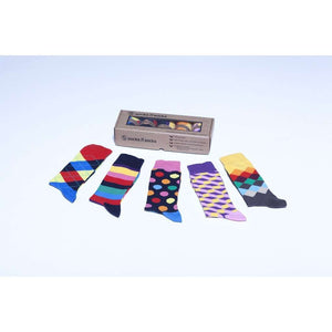 Men's 5-Pair Cool Mix Socks - 5and15