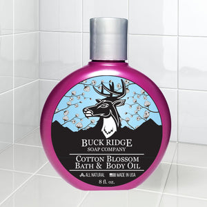 Cotton Blossom Bath and Body Oil