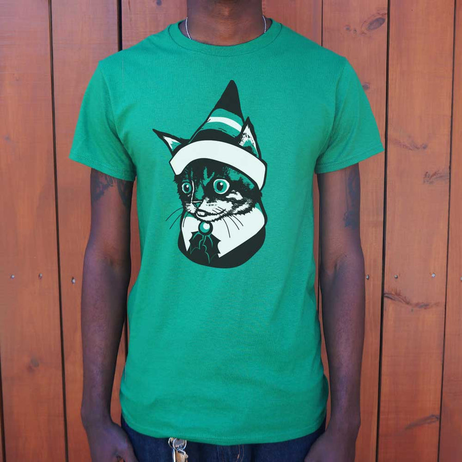 Mens  Elf Kitten T-Shirt *Free Shipping* - 5and15