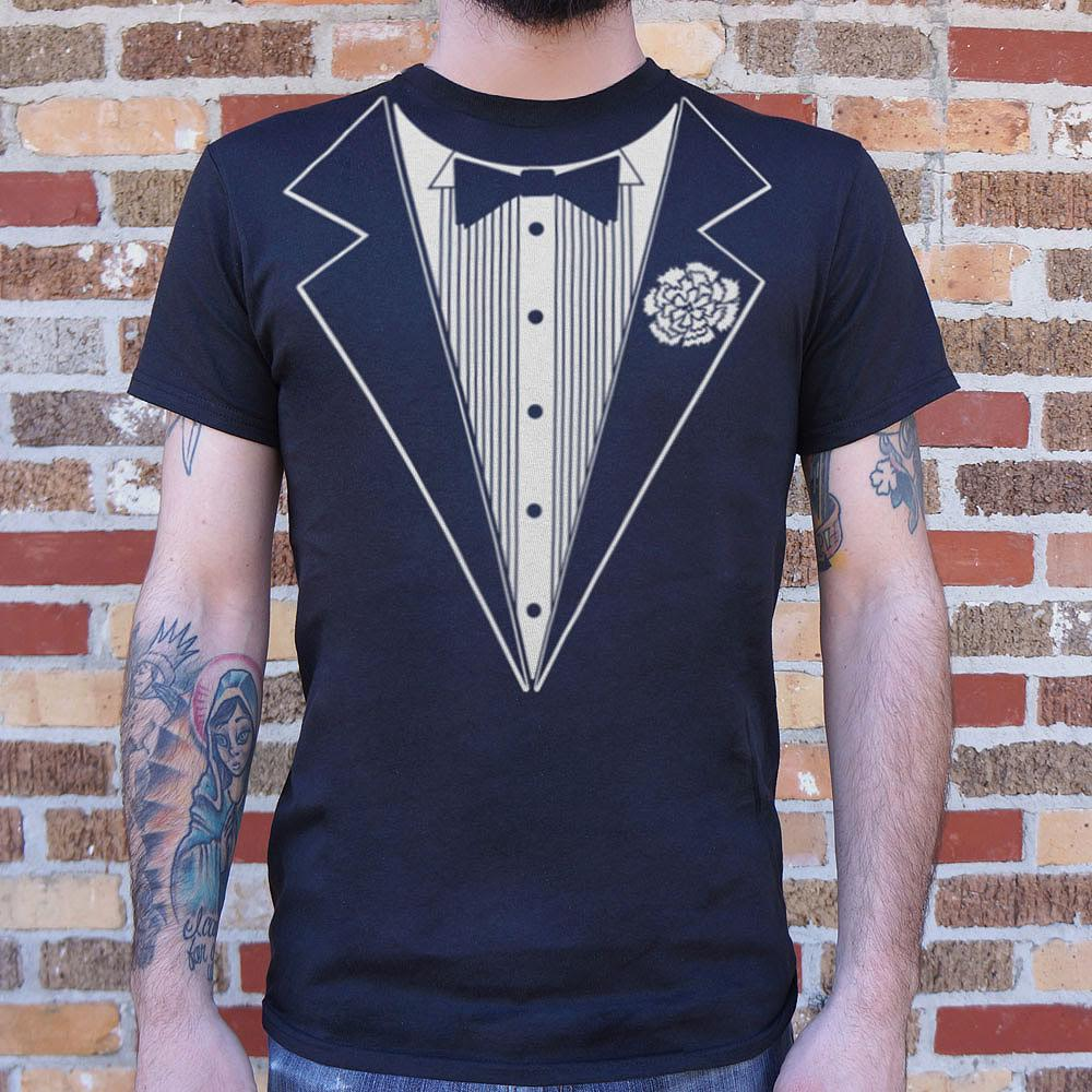 Mens Tuxedo T-Shirt *Free Shipping* - 5and15