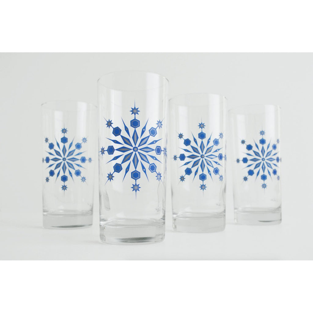 Snowflake Glasses - 5and15