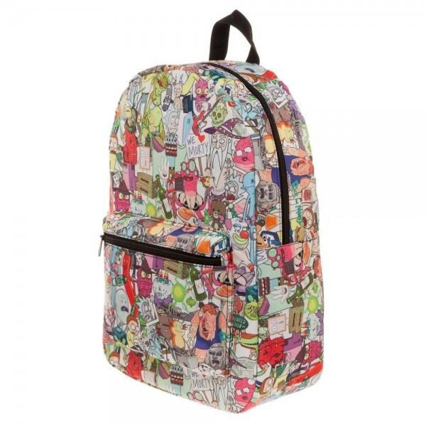 Rick & Morty Subliimated Backpack - 5and15