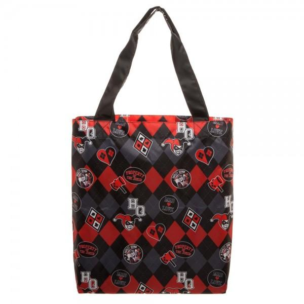 DC Comics Harley Quinn Packable Tote - 5and15