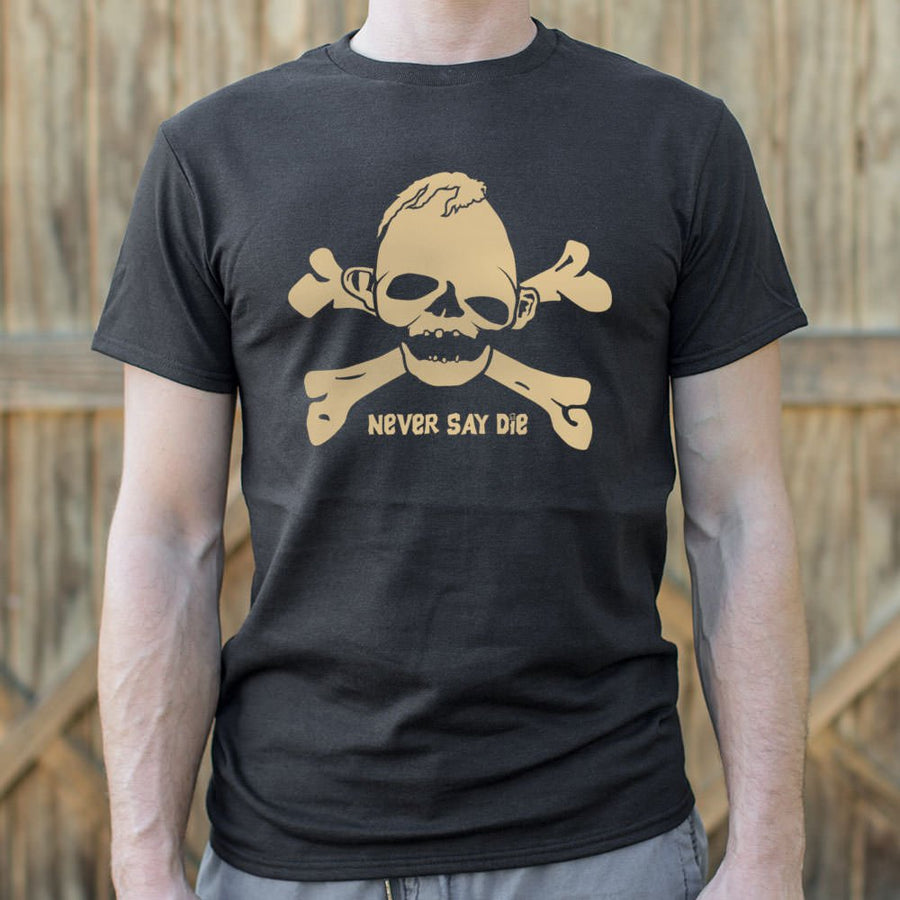 Mens Sloth Never Die T-Shirt *Free Shipping* - 5and15