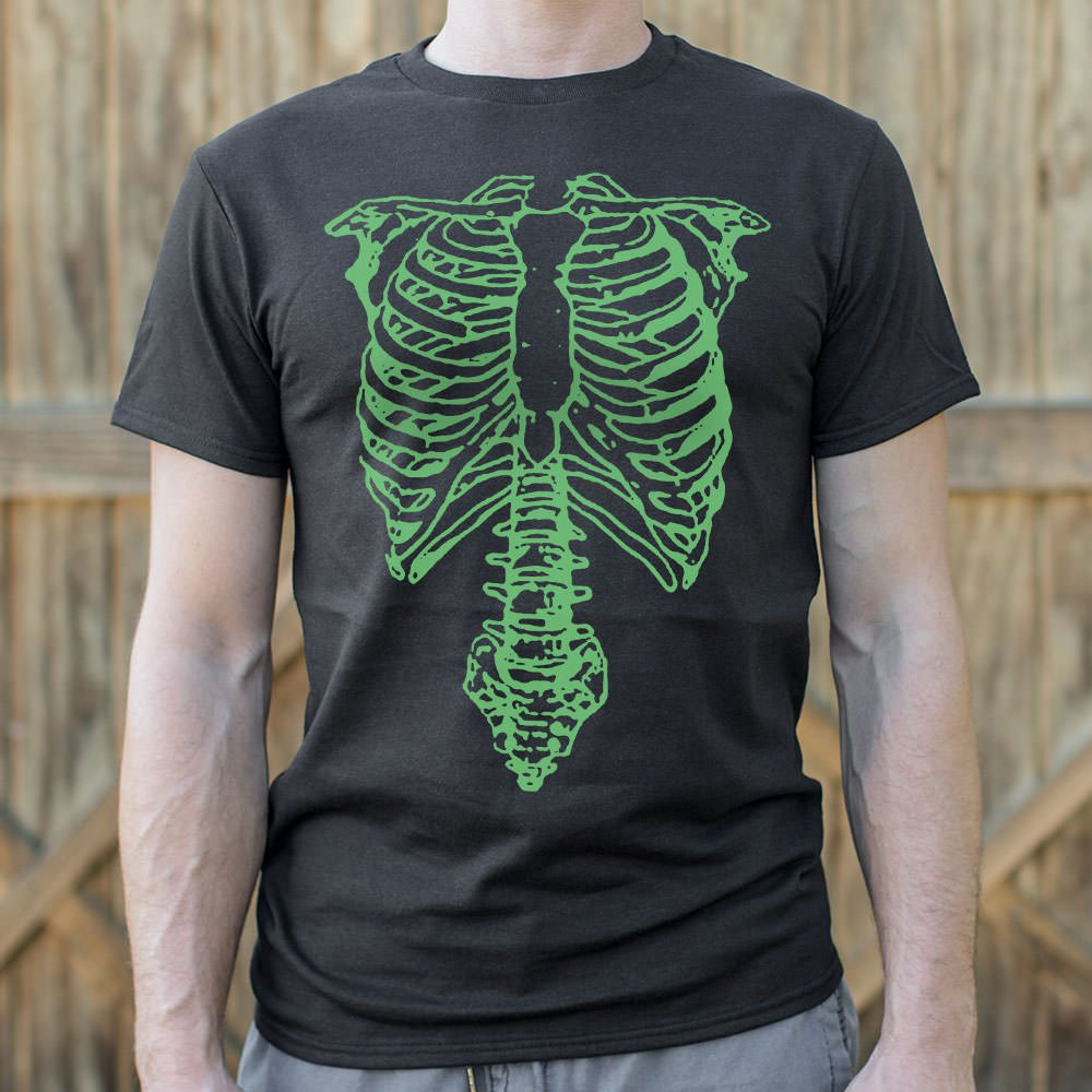 Mens Tap The Spinal Skeleton T-Shirt *Free Shipping* - 5and15
