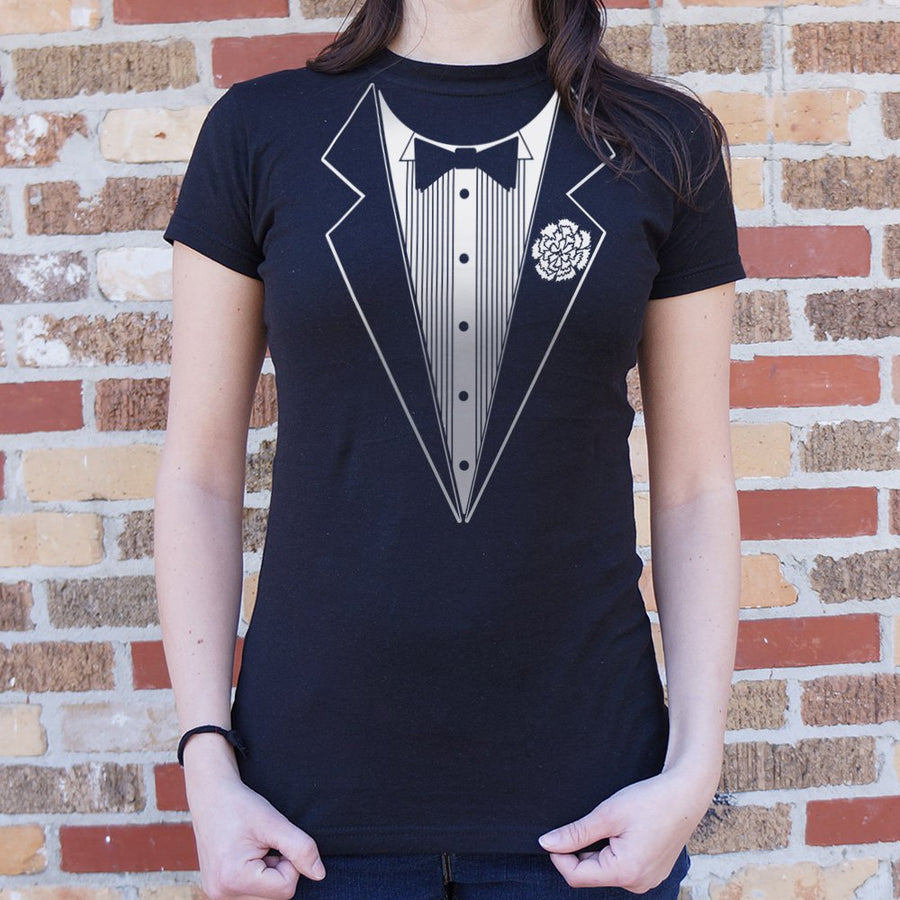Ladies Tuxedo T-Shirt *Free Shipping* - 5and15