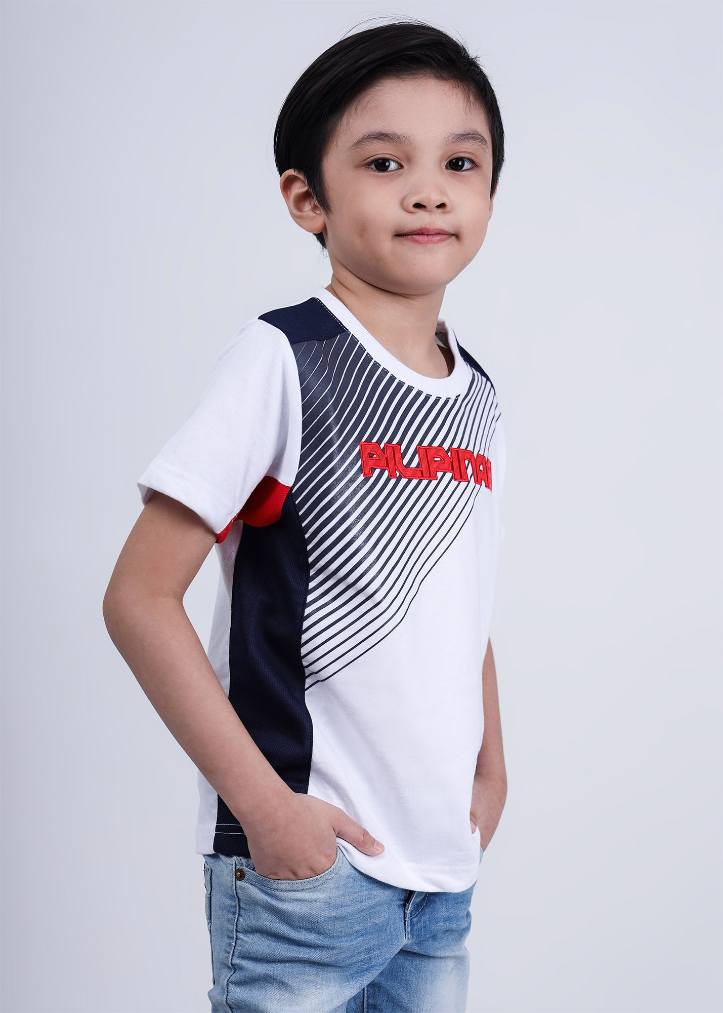 Sporty Lines Tshirt for Kids