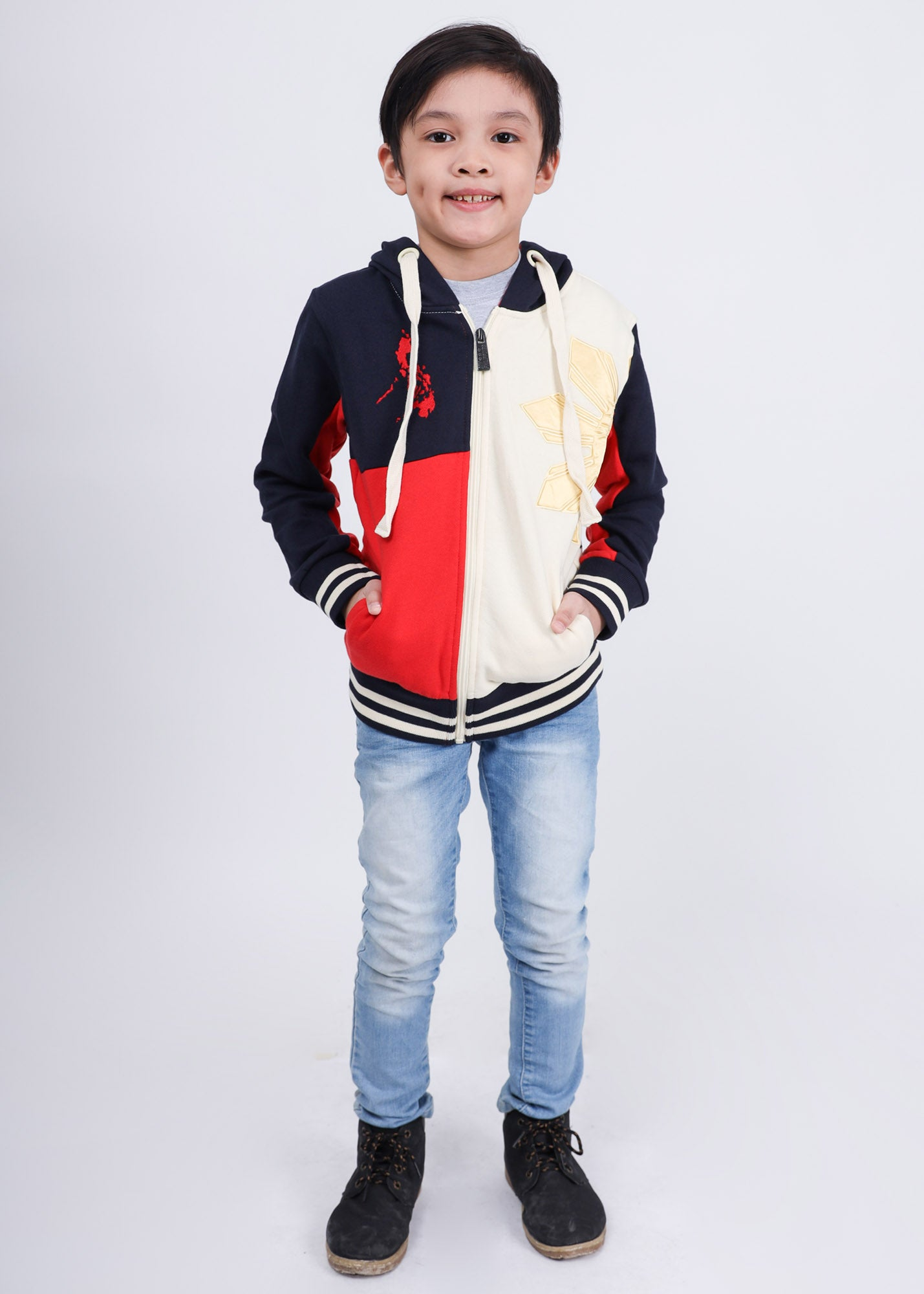 Bright Hoodie Jacket for Kids
