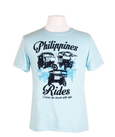 Philippine Rides in Acid Blue