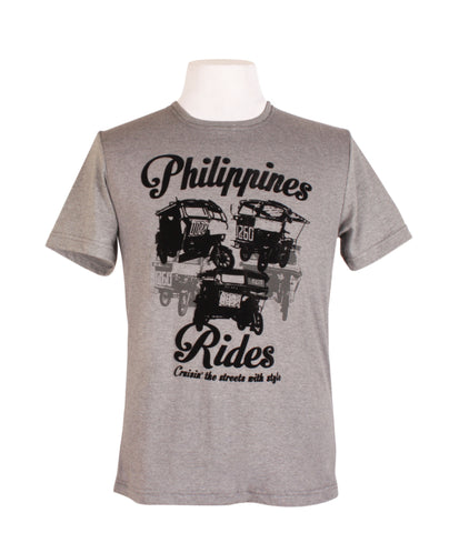 Philippine Rides in Acid Gray