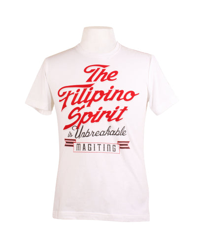 Filipino Spirit in White