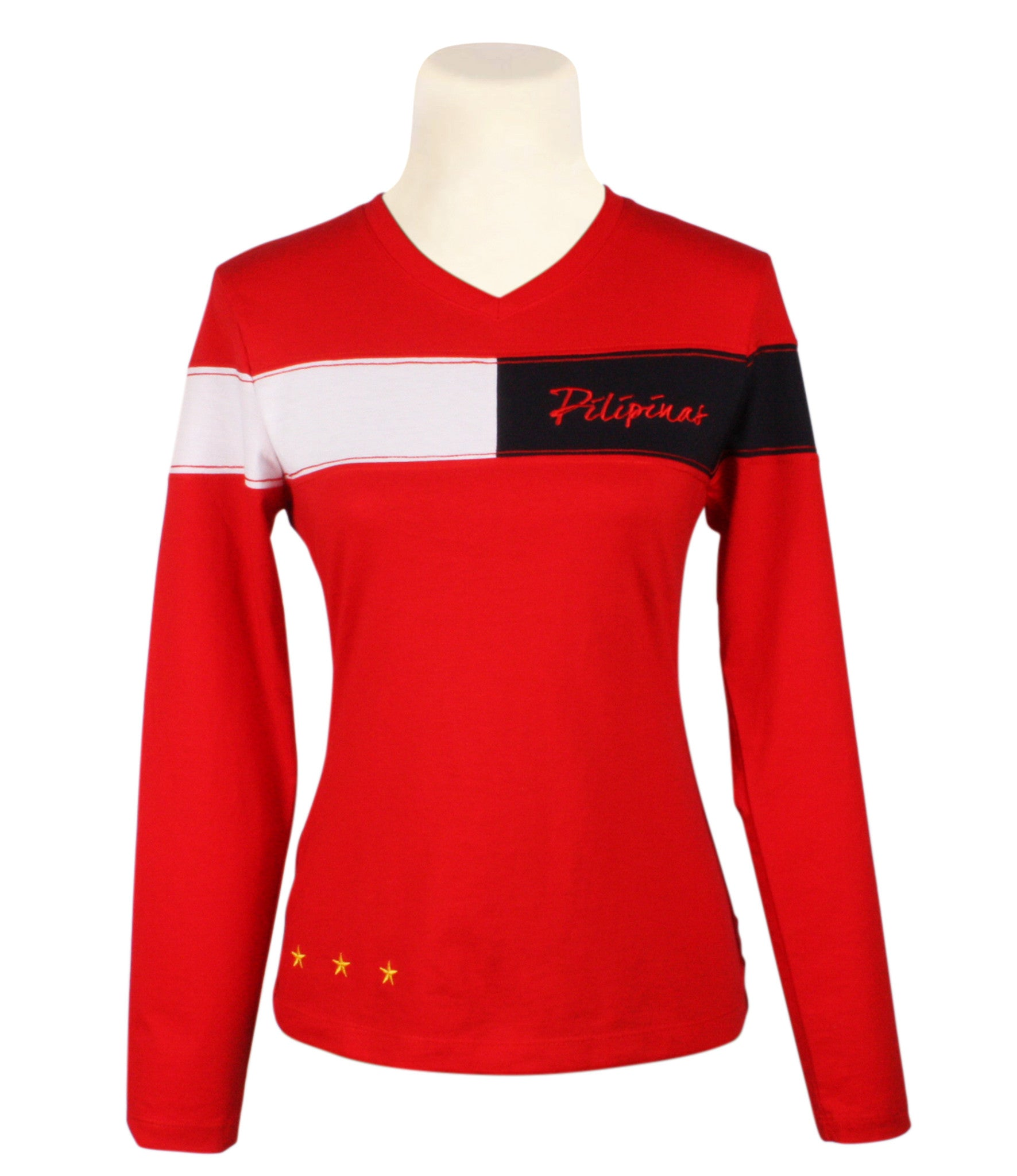 Pilipinas Chain sweatshirt in red for Ladies